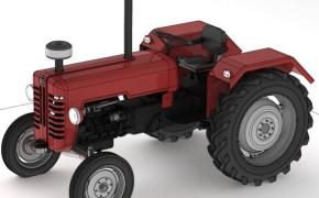 大型农用拖拉机