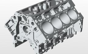 雪佛兰LS3发动机缸体