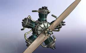 星形发动机